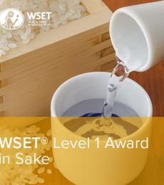 WSET Level 1 in Sake