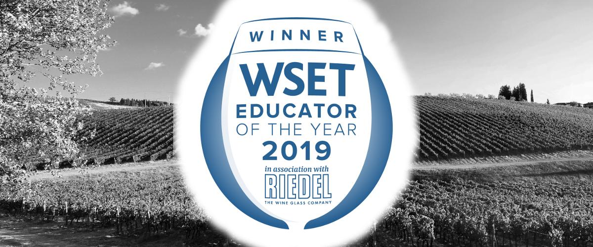 WSET Educator of the Year 2019 Winner